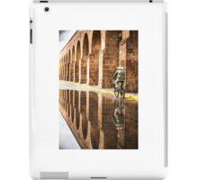 Aqueduct Cyclist - Morelia, Mexico iPad Case/Skin