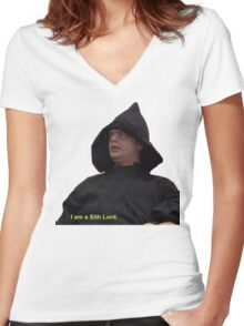 I am a Sith Lord--Dwight Schrute Women's Fitted V-Neck T-Shirt