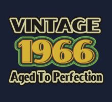 Vintage 1966 – Aged To Perfection Kids Tee
