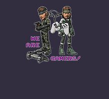 Inspired by Big Boss and Solid Snake of Metal Gear Solid Unisex T-Shirt