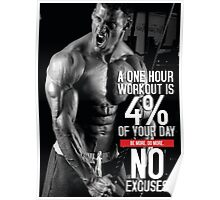 Four Percent Of Your Day Poster