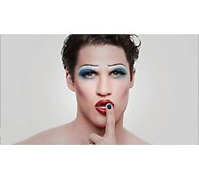 Darren in Hedwig (3) ~ Hedwig and the Angry Inch Photographic Print