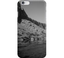 Rocky River Bend Black and White iPhone Case/Skin