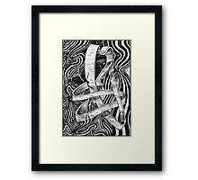 freefalling Framed Print