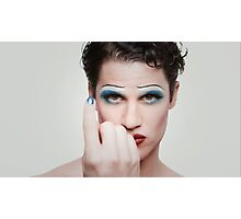 Darren in Hedwig (4) ~ Hedwig and the Angry Inch Photographic Print