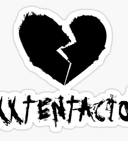 xxxtentacion Heartbroken Sticker
