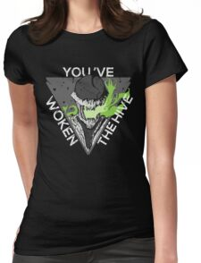 You've Woken The Hive Womens Fitted T-Shirt