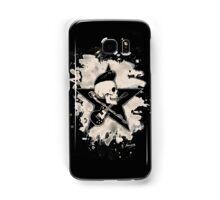 Rock-n-Roll Skull - bleached Samsung Galaxy Case/Skin