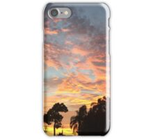 Sunset at the Drive-Ins iPhone Case/Skin