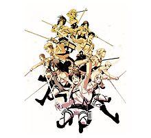 Shingeki no kyojin - Attack on Titan by M M