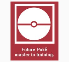 Pokemon (Go) masters in training Kids Tee