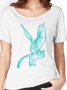 Owleopard Women's Relaxed Fit T-Shirt