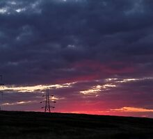 Sunset pylon by chris2766