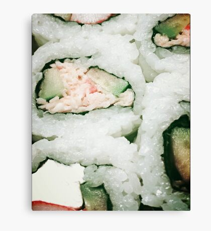Love Sushi! Canvas Print