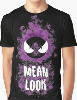 Mean Look Graphic T-Shirt