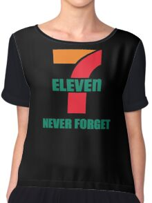 7 Eleven Never Forget Chiffon Top