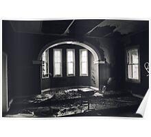 Abandoned orphanage.  Poster