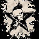 Rock-n-Roll Skull - bleached by Bela-Manson