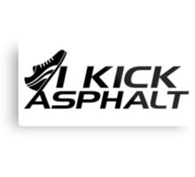 I kick asphalt Metal Print