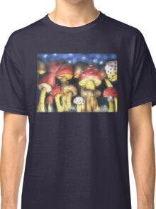 A Night by Mushroom's Light Classic T-Shirt