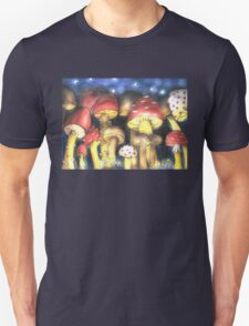 A Night by Mushroom's Light Unisex T-Shirt
