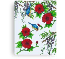 Harmony in spring Canvas Print