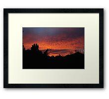 Natural Flare Framed Print