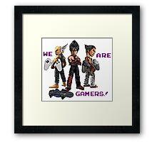 Inspired by Heihachi, Jin and Kazuya of Tekken Framed Print