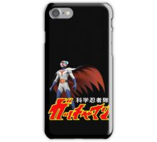 TATSUNOKO JAPAN CLASSIC RETRO CARTOON ANIME SERIES GATCHAMAN G-FORCE BATTLE OF THE PLANETS SCIENCE NINJA TEAM  iPhone Case/Skin