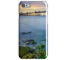 Pier Sunrise iPhone Case/Skin
