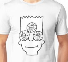 Bart all slurped out  Unisex T-Shirt