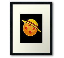 Dragonball Z - One Piece Framed Print