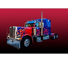 Optimus Prime 2 Photographic Print