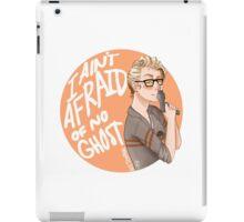 "Jillian Holtzmann ""I Ain't Afraid of No Ghost"" iPad Case/Skin"