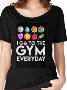 Pokemon - I GO TO THE GYM EVERY DAY Women's Relaxed Fit T-Shirt