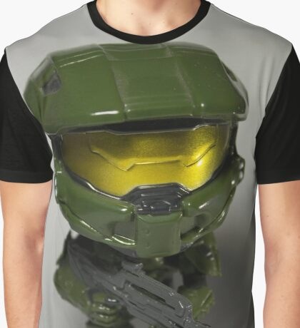 Master Chief POP head Graphic T-Shirt