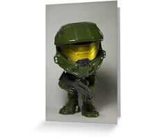 Master Chief POP head Greeting Card