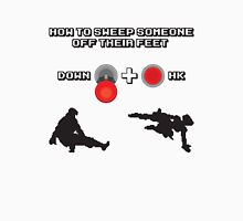 Down + Hard Kick Unisex T-Shirt