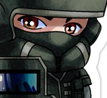 Blitz Chibi Sticker