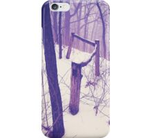 Forest Fence iPhone Case/Skin