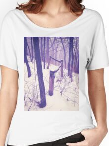 Forest Fence Women's Relaxed Fit T-Shirt