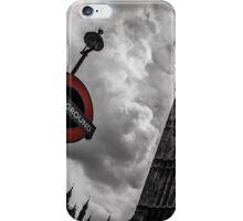 Big Ben vs Underground iPhone Case/Skin