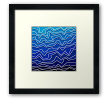 Polynoise Deep Layer Framed Print