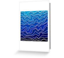Polynoise Deep Layer Greeting Card