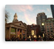 Evening in Quincy Canvas Print