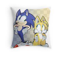 Sawnik and Tailz Throw Pillow
