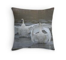 Swan Dance - 2 out of 3 Throw Pillow