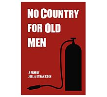 No Country For Old Men film poster Photographic Print