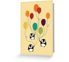 Pinguins Greeting Card