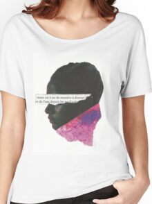 Le Nubian  Women's Relaxed Fit T-Shirt